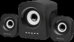 Акустическая 2.1 система Defender Z6 11 Вт, FM/ MP3/ USB