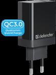 Сетевое ЗУ Defender UPA-101 1 порт USB, 18W, QC 3.0
